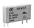 HF41F12ZT Subminiatur-Power-Relais 1 WE Spule 12 VDC 858 Ohm